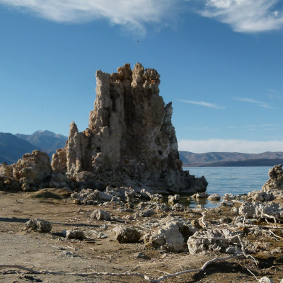 Sodasee Mono-Lake in Kalifornien, USA