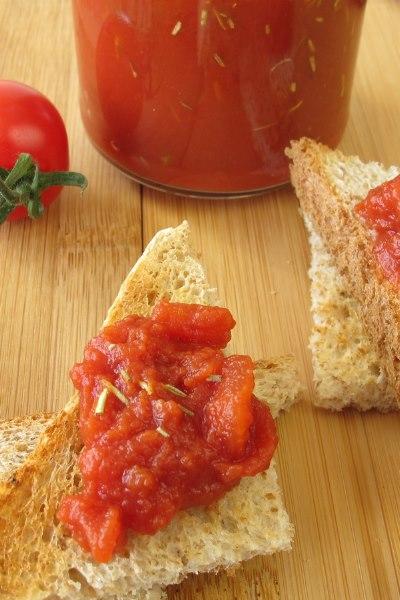 Tomatenchutney im Weckglas